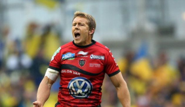Jonny Wilkinson directs play in RC Toulon's first European Cup triumph in 2013