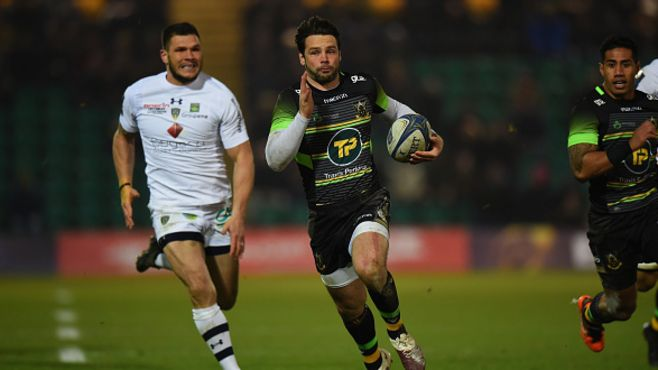Ben Foden Northampton Saints