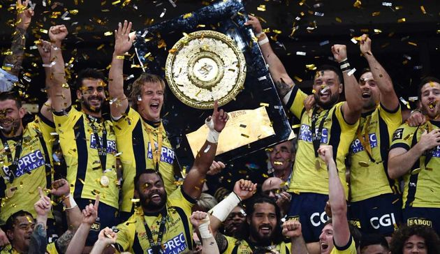 Clermont Top 14 trophy