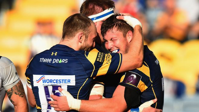 Worcester Warriors 30 Brive 20