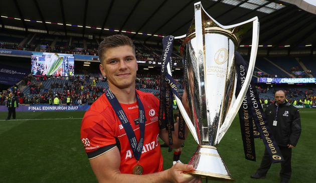 Owen Farrell in Edinburgh