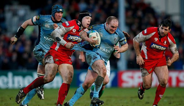 Gloucester Rugby v Cardiff Blues