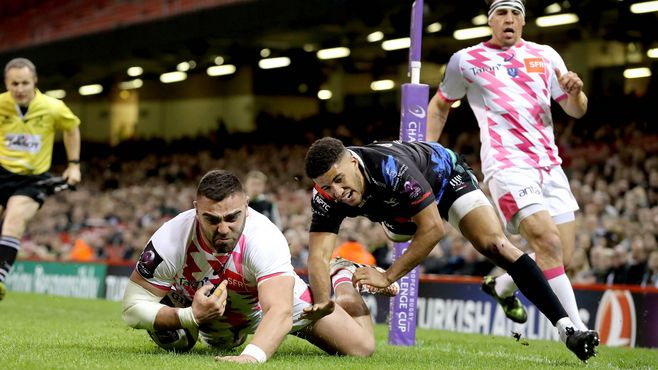 REPORT: 14-man Stade end Ospreys' European dream