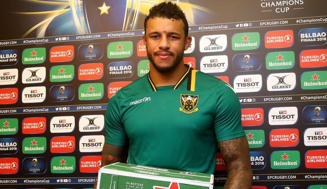 Lawes leads the way for Northampton