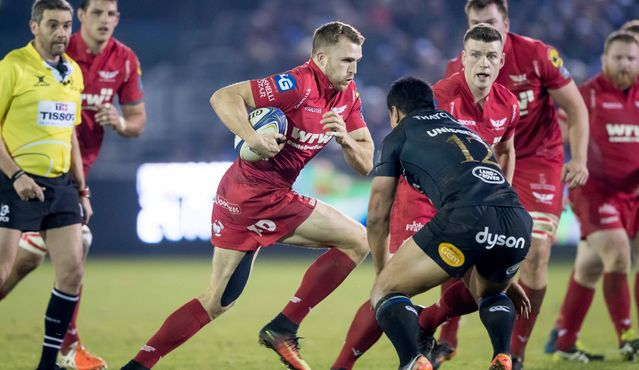 Scarlets duo to miss Champions Cup quarter-finals