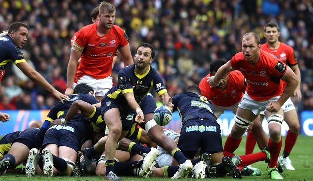 Late rally helps Saracens win Champions Cup