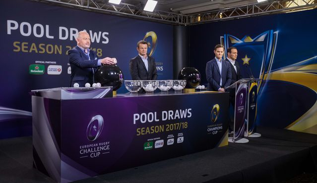 2017/18 Pool Draws highlights