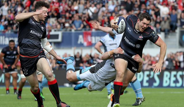 See how Saracens made the semi-finals.